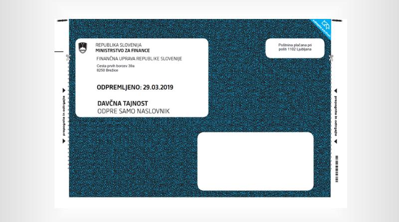 Informativni izračun dohodnine 2020 – FURS bo prvi sveženje odposlal konec marca
